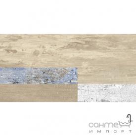 Плитка 19,5х119,7 Colorker Revolt Camel Mix бежевая под дерево