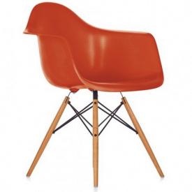 Кресло SDM Тауэр Вуд дерево бук/пластик Оранжевый (hub_IOaH95179)