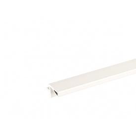 Профиль Gola L-образный в верхний модуль Volpato для ДСП 18 мм мм 4200 белый 80/G29