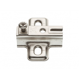 Планка для петли монтажная Hafele METALLA S мм 2 311.98.682