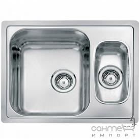 Кухонна мийка, виразний стандарнтий монтаж Reginoх Admiral 60 LEFT (лівостороння) Нержавіюча Сталь