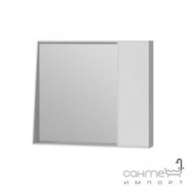 Зеркальный шкаф Ювента Manhattan 80 с LED подсветкой и выключателем белый