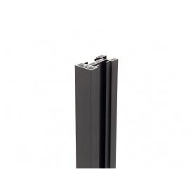 Вертикальный опорный профиль Volpato Stili мм 4800 венге браш