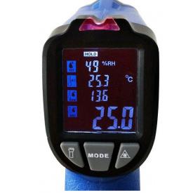 Пірометр - термогігрометр з термопарою FLUS IR-818 (-50...750 градусів Цельсія)