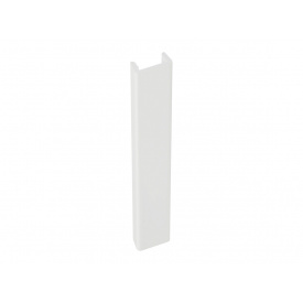 Заглушка к цоколю Volpato мм 150 белый глянец