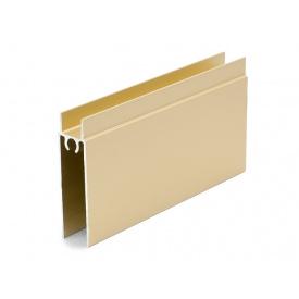 Горизонтальный профиль нижний Slider золото мм 5000