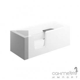 Бічна панель для прямокутної ванни Polimat 75 00023 біла