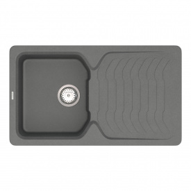 Кухонная Мойка Vankor Sigma Smp 02.85 Gray + Сифон Vankor