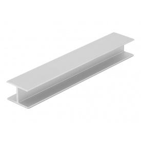 Соединительный профиль Slider усиленный серебро мм 5000