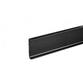 Профиль Gola С-образный универсальный Volpato Clap`n`FIT мм 4200 черный матовый 80/G39