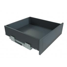 Выдвижной ящик с отталкивателем GIFF PRIME FlatBox мм 450 мм 116 графит