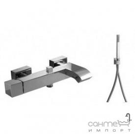 Змішувач для ванни Tres Cuadro-Tres 1.07.170.02 Хром
