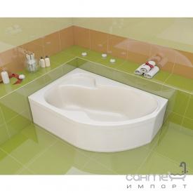 Асиметрична ванна Artel Plast Флорія левосторонняя