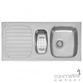 Кухонная мойка, врезной стандартный монтаж Reginox King R1.5 A Нержавеющая Сталь