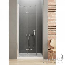 Душевая дверь складная New Trendy New Soleo L 80 D-0131A левая прозрачное стекло
