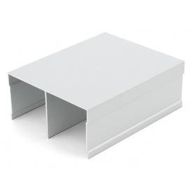 Направляющий профиль верхний Slider Project мм 5000 серебро