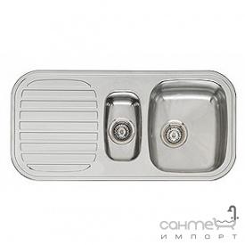 Кухонна мийка, виразний стандартний монтаж Reginoх King R1.5 A DECOR Нержавіюча Сталь