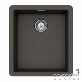 Гранітна плита, мийка Schock Cristalite Brooklyn N100 S 10 onyx