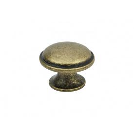 Ручка кнопка Virno Antique 635 патинована бронза