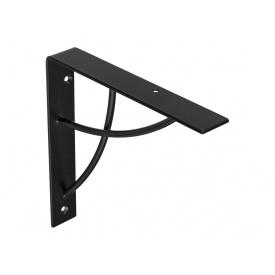 Консоль декоративная Loft GIFF VALV мм 180х180 черный