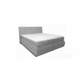Ліжко Саванна 140x200 сіра