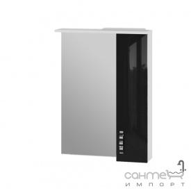 Зеркальный шкаф Ювента Trento TrnMC-60 правый черный