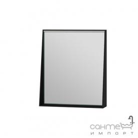 Зеркало в ванную комнату Ювента Manhattan 60 с LED подсветкой и выключателем черное