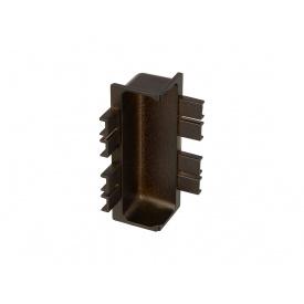 Угол внутренний 90* к C-образному профилю Gola Volpato Clap`n`FIT венге