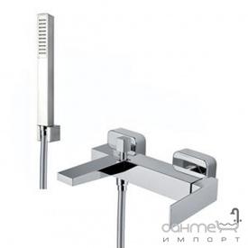 Смеситель для ванны с душевым гарнитуром Fiore Kube 100 CR 8552 хром