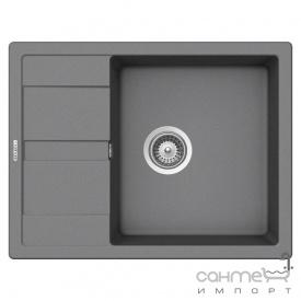 Гранитная кухонная мойка Schock Cristalite DIY D100 S 10 onyx