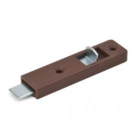 Шпінгалет металевий GIFF коричневий