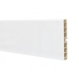 Цокольна Планка Volpato мм 4000 мм 100 білий глянець