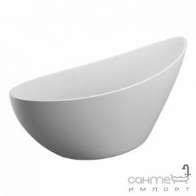 Овальная ванна Polimat Zoe 180х80 белая (00827)