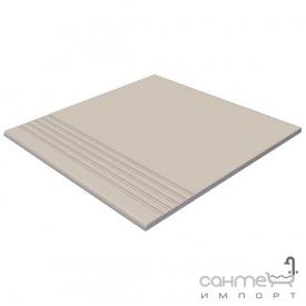 Плитка напольная ступень RAKO Taurus Color TCP35010 10 S Super White