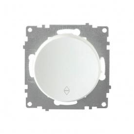 Переключатель одинарный, цвет белый (серия Florence) арт.1Е31401300