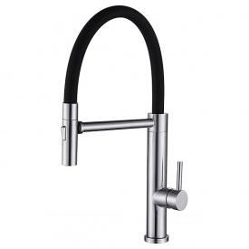 Смеситель для кухни с выдвижным изливом Lambert Pull-Out LR3034