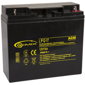 Аккумуляторная батарея Gemix LP12-17