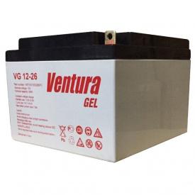 Гелевый аккумулятор Ventura VG 12-26 GEL