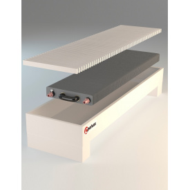 Підлоговий конвектор природної конвекції Polvax N. KEM2.300.1000.245