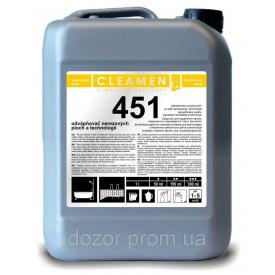 Устранение известкового налета из нержавеющей стали CLEAMEN 451 - 5 л