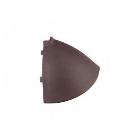 Угол к плинтусу Egger AC07 темный коричневый внешний 90° 901195