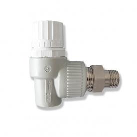 Вентиль радіаторний кутовий PPR Ekoplastik PN20 20 мм 1/2 'SVER020RXX