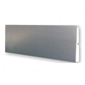 Цокольна Планка Volpato мм 4000 мм 120 алюміній гладкий