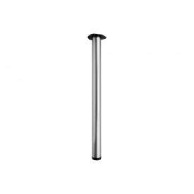 Опора для стола регулируемая GIFF Rondella 60/710 матовый хром
