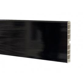 Цокольна Планка Volpato мм 4000 мм 100 чорний глянець