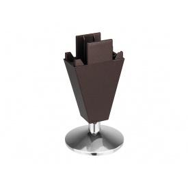 Опора регулируемая пластик Volpato Stili мм 90 венге браш