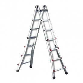 Телескопическая лестница SVELT SCALISSIMA 8+8