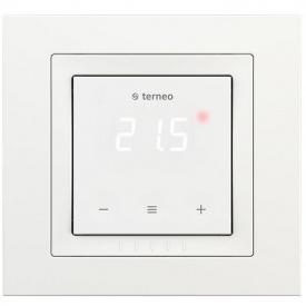 Терморегулятор для теплого пола terneo s unic, белый