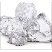 Стеклянные камни белые TRASPARENTE 80-120 мм