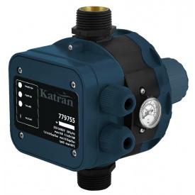 Контроллер давл электр 1.1кВт O + рег давл вкл 1.5-3.0 bar Katran (779755)